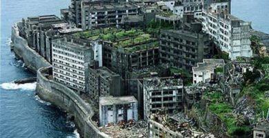 lugares abandonados - Isla Hashima