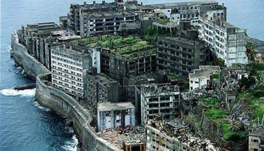 La isla Hashima (o Gunkanjima), en Japón