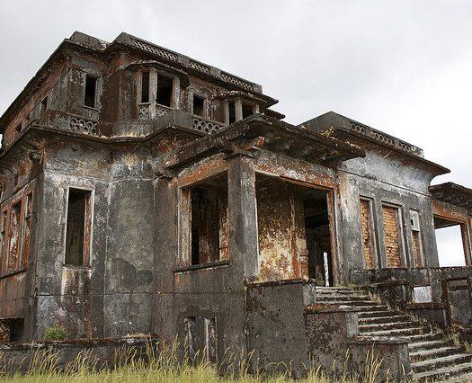 lugares abandonados en Camboya