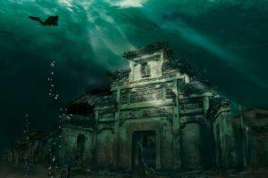 Ciudad Sumergida Shi Cheng   lugares abandonados