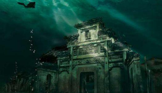 La ciudad sumergida de Shi Cheng, en China