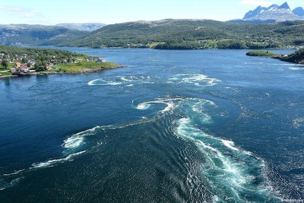 corrientes marinas más fuertes del mundo