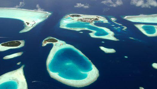Paraíso submarino en los atolones de las Maldivas