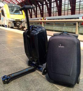 Viaja con tu maleta patinete a cualquier lugas