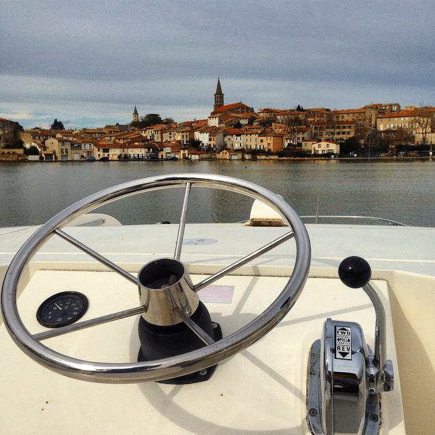 Viaje por el Canal du Midi en barco