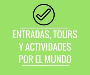 Tours y actividades para viajar