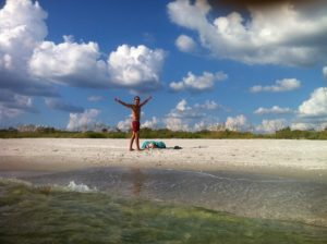 Playa de Sanibel en Florida