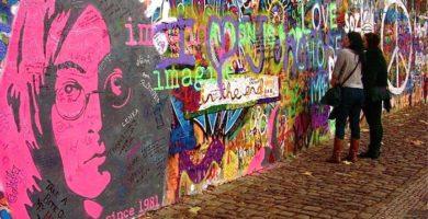 El muro de Lennon | Praga