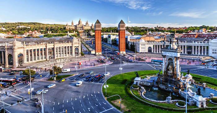 Plaza España   Lugares que visitar en Barcelona