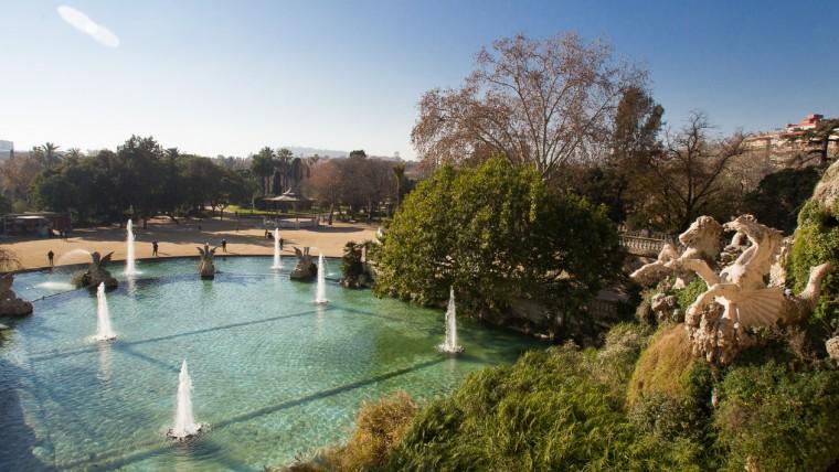Visitar el parque de la Ciutadella