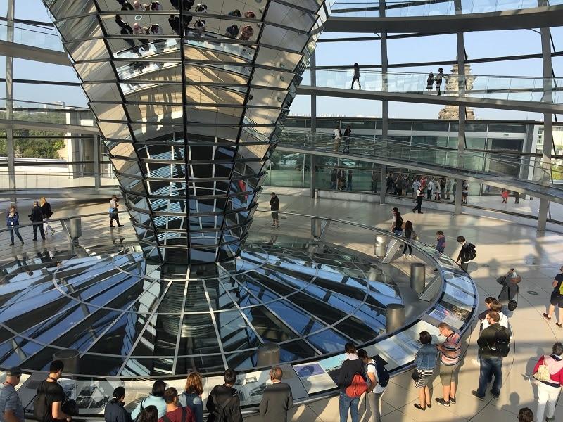 Cupula del Parlamento Berlin