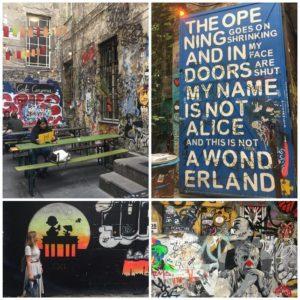 Graffitis en Berlin