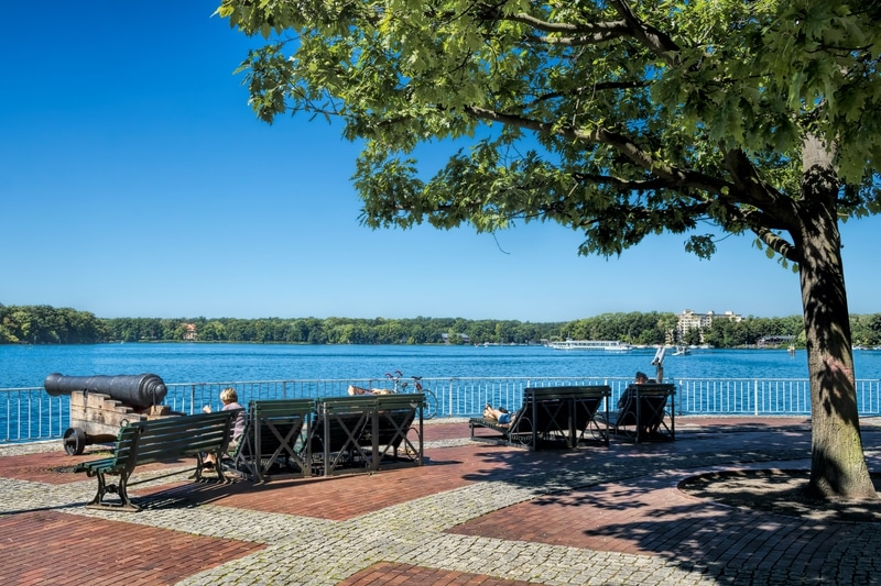 Visitar el lago Tegeler