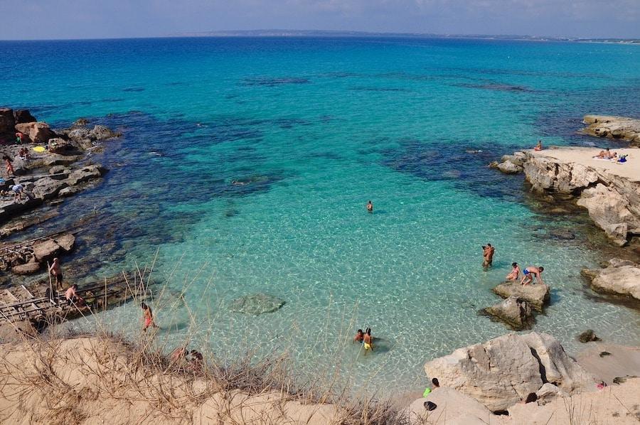 Calas de formentera - Caló des Mort - Playas destacadas en Formentera