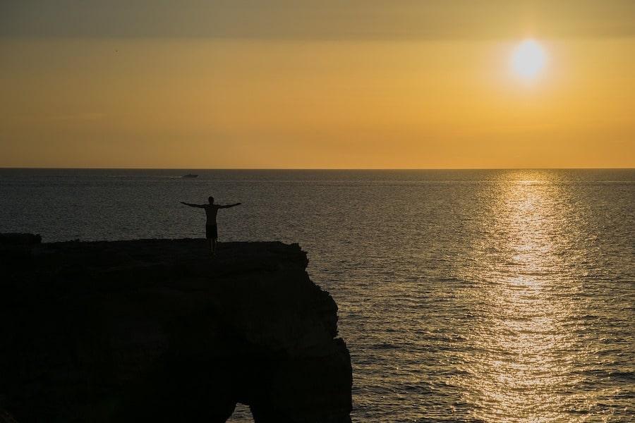 Puesta de sol en Formentera - Playas destacadas en Formentera