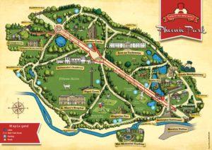 Mapa Phoenix Park