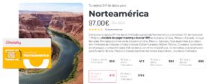 Holafly SIM Norteamerica precios