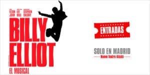 Entradas musical de Billy Elliot en Madrid