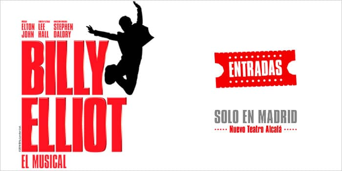 Entradas musical de Billy Elliot en Madrid