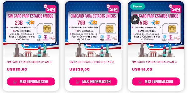 tarjeta sim para viajar misimcard