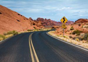 Carretera en Estados Unidos