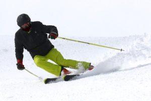 Esquiar en el pirineo catalan