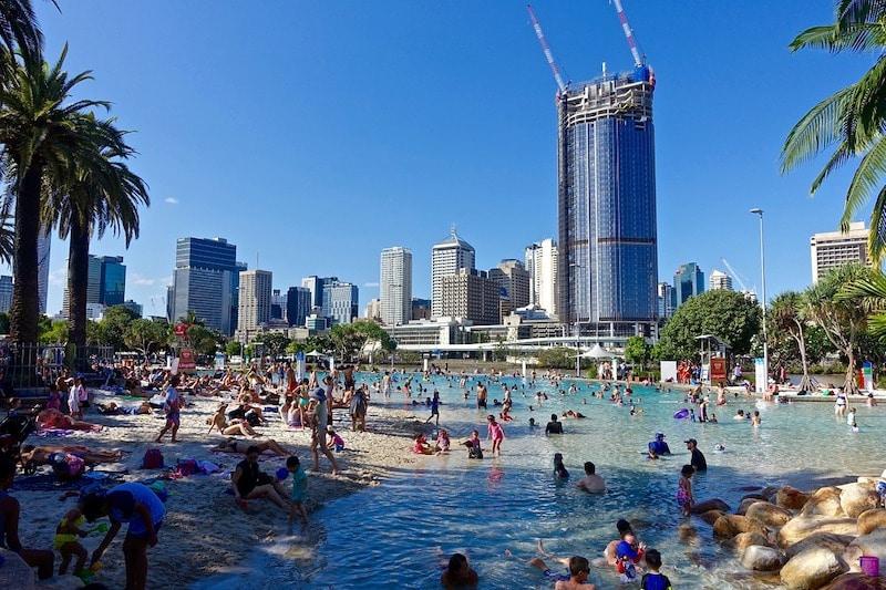Brisbane - alojarse barato en Australia