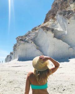 Playa de En Medio en Cabo de Gata