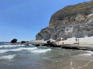 Cala de Enmedio en Cabo de Gata