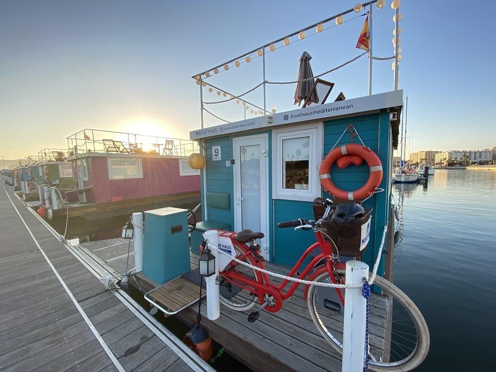 Atardecer en el Boat Haus