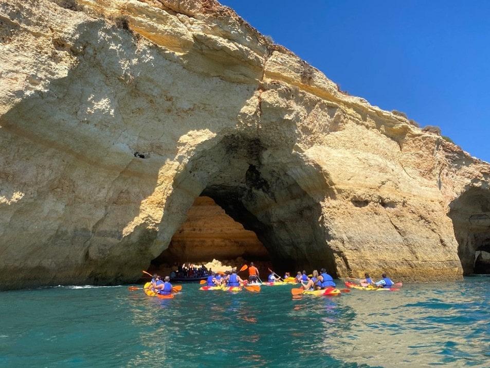 Excursión en Kayak Cueva de Benagil