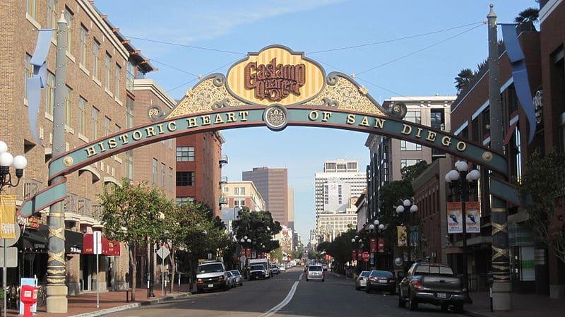 Gaslamp Quarter - San Diego