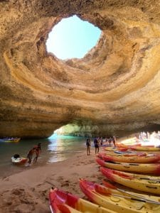 Kayaks Cueva de Benagil