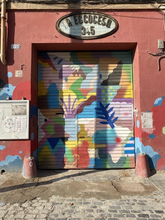Ruta Arte Callejero Barcelona