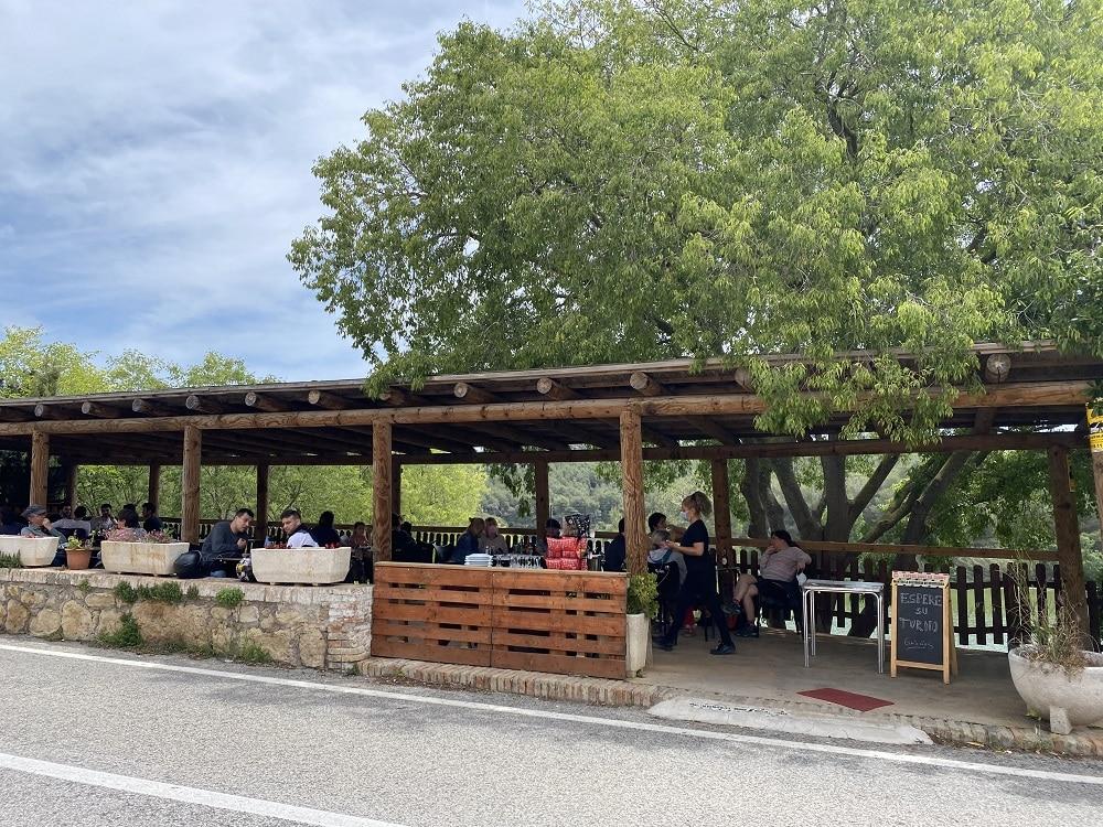 Panta de Foix   Restaurante el Barretet