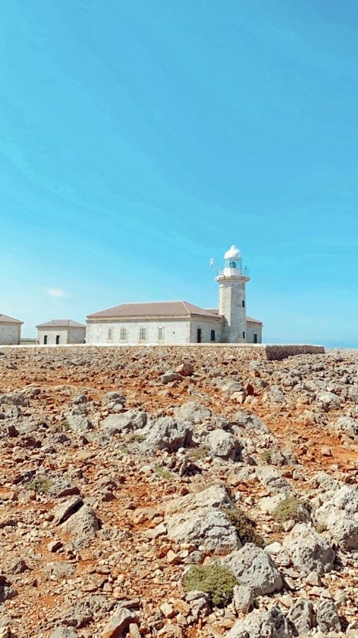 Punta Nati   Lugares que ver en Menorca